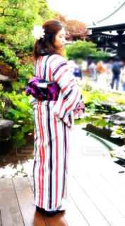衣装を着ている人の写真・画像素材[1031675]