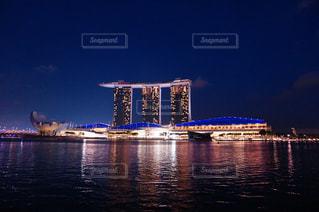 夜景の写真・画像素材[398019]