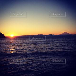 夕日の写真・画像素材[320155]