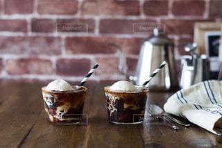 コーヒーフロートの写真・画像素材[1286950]