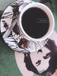 一杯のコーヒーの写真・画像素材[980668]