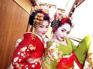 京都 舞妓さんの写真・画像素材[438166]