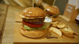 ハンバーガーの写真・画像素材[1668681]