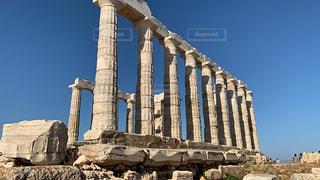 ポセイドン神殿の写真・画像素材[2582325]