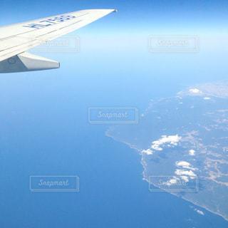 飛行機からの眺めの写真・画像素材[1047808]