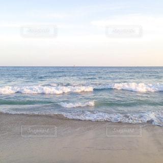 釜山・海雲台ビーチの写真・画像素材[1047809]