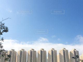 香港の高層ビル街の写真・画像素材[1053276]