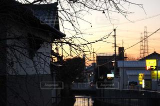 夕暮れの写真・画像素材[322153]