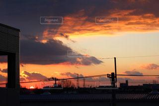 夕日の写真・画像素材[329323]