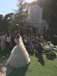 結婚式の写真・画像素材[408647]