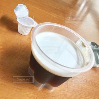 おやつのコーヒーゼリーの写真・画像素材[691293]