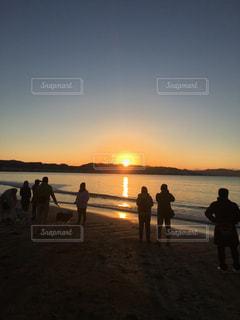 日の出の写真・画像素材[322982]