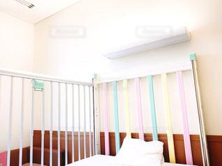 小児科入院ベッドの写真・画像素材[2047843]