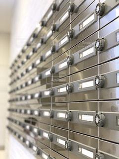 回転式ダイヤル郵便ポストの写真・画像素材[2054347]
