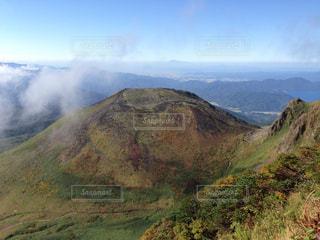 秋田駒ヶ岳の女岳の写真・画像素材[323563]