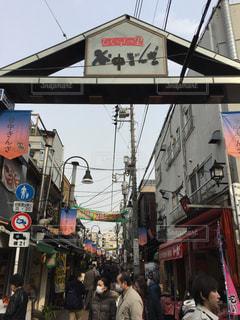 谷中商店街の写真・画像素材[395598]