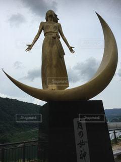 山形 月の女神の写真・画像素材[411564]