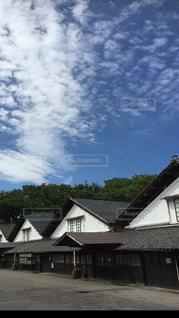 酒田 山居倉庫の写真・画像素材[411571]