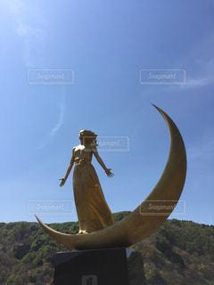 月の女神の写真・画像素材[461485]