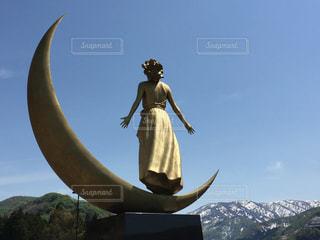 月の女神の写真・画像素材[461497]