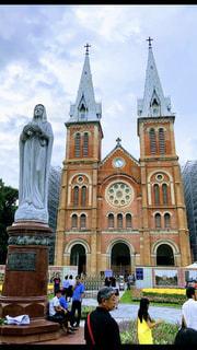 サイゴン大聖堂の写真・画像素材[1464069]