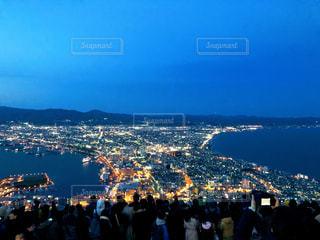函館の夜景の写真・画像素材[2077006]