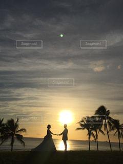夕日の写真・画像素材[328050]