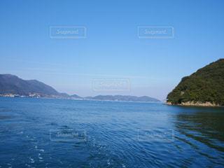 船のうえから撮影した瀬戸内海の写真・画像素材[324629]