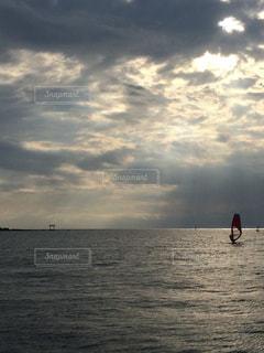 逗子の海の写真・画像素材[760904]