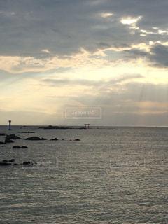 逗子の海の写真・画像素材[760906]