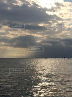 逗子の海の写真・画像素材[760907]