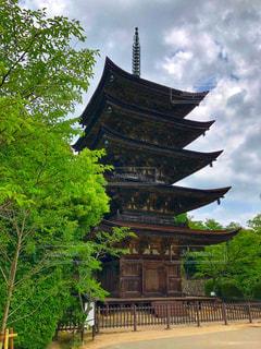 瑠璃光寺五重の塔の写真・画像素材[2500755]