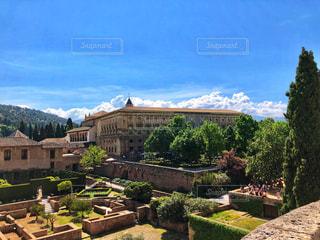 アルハンブラ宮殿の写真・画像素材[2595896]