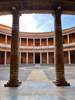 カルロス5世宮殿の写真・画像素材[2615893]