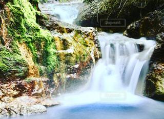 登別天然足湯の写真・画像素材[1271818]