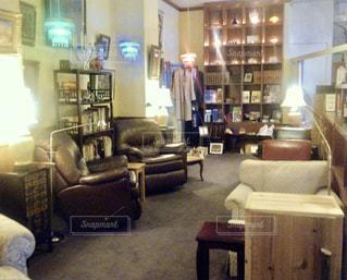 リビング ルームの家具の写真・画像素材[764467]