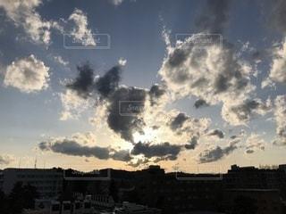 空の雲の写真・画像素材[1119093]