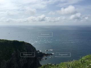 竜飛岬の眺めの写真・画像素材[1590635]