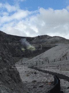 川原毛地獄の写真・画像素材[1591314]