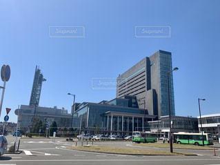 秋田駅 東口の写真・画像素材[2075130]
