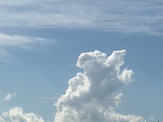 入道雲の写真・画像素材[437808]