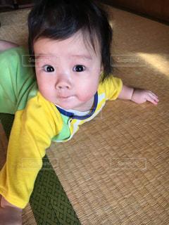 赤ちゃんの写真・画像素材[334384]