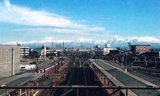 立山連峰をのぞむの写真・画像素材[1010401]