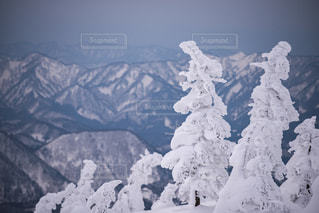 森吉山からの絶景の写真・画像素材[901398]