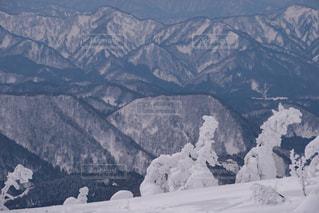 森吉山からの絶景の写真・画像素材[901400]