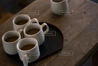 思い出の潟分校のおもてなしのコーヒーの写真・画像素材[994667]