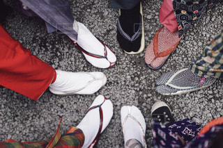 足の写真・画像素材[9458]