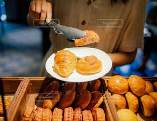 パンのバイキングの写真・画像素材[3379430]