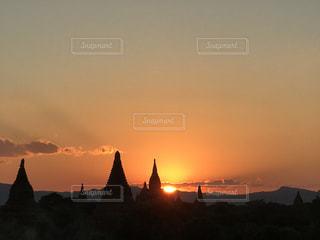 夕日の写真・画像素材[328961]