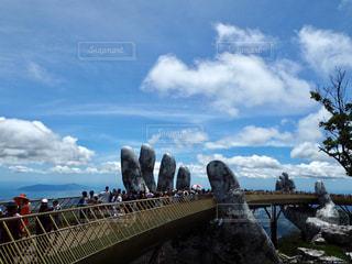バーナーヒルズ 神の手の橋の写真・画像素材[2885942]